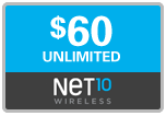 $59.79 Net10 Refill Airtime Minutes