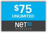 $74.69 Net10 Refill Airtime Minutes