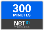 300 Net10 Wireless Refill Minutes, 60 days on SALE $29.39