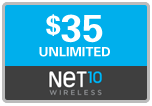 $34.89 Net10 Refill Airtime Minutes