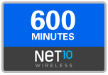 600 Net10 Wireless Refill Minutes, 60 days on SALE $44.09