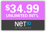 Buy the $34.99 Net10 Refill Minutes Instant Prepaid Airtime | On SALE for Only $34.99
