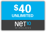 Buy the $40.00 Net10 Refill Minutes Instant Prepaid Airtime | On SALE for Only $39.89