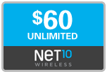 Buy the $60.00 Net10 Refill Minutes Instant Prepaid Airtime | On SALE for Only $59.79