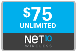 Buy the $75.00 Net10 Refill Minutes Instant Prepaid Airtime | On SALE for Only $74.69