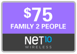 Buy the $75.00 Net10 Refill Minutes Instant Prepaid Airtime | On SALE for Only $74.95