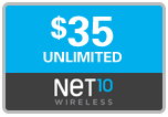Buy the $35.00 Net10 Refill Minutes Instant Prepaid Airtime | On SALE for Only $34.89