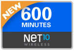 Buy the $45.00 Net10 Refill Minutes Instant Prepaid Airtime | On SALE for Only $44.09