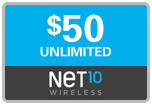 Buy the $50.00 Net10<sup>&reg;</sup> Refill Minutes Instant Prepaid Airtime | On SALE for Only $49.79