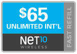 Buy the $65.00 Net10 ReUp Real Time Refill Minutes | On SALE for Only $64.69