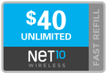 Buy the $40.00 Net10® Real Time Refill Minutes | On SALE for Only $39.89