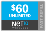 Buy the $60.00 Net10 ReUp Real Time Refill Minutes | On SALE for Only $59.79