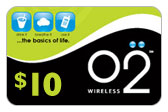 Buy the $10.00 Oxygen O2 GSM Refill Minutes Instant Prepaid Airtime | On SALE for Only $9.99