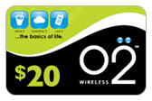 Buy the $20.00 Oxygen O2 GSM Refill Minutes Instant Prepaid Airtime | On SALE for Only $19.89