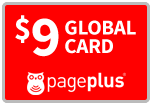 $9.00 Page Plus Refill Airtime Minutes