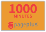 1,000 Page Plus Refill Minutes for SALE $50.00