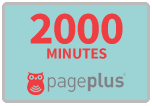 2,000 Page Plus Refill Minutes for SALE $80.00
