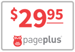 Page Plus Talk n Text 1,200 for SALE $29.95