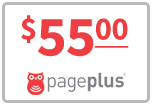 $55.00 Page Plus Refill Airtime Minutes
