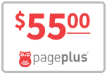Buy the $55.00 Page Plus Refill Minutes Instant Prepaid Airtime | On SALE for Only $55.00