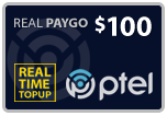 Buy the $100.00 PlatinumTel (Ptel) TopUp Real Time Refill Minutes | On SALE for Only $98.99