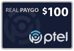 Buy the $100.00 PlatinumTel (Ptel) Refill Minutes Instant Prepaid Airtime | On SALE for Only $98.99