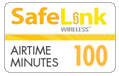 $19.89 Safelink Wireless Refill Airtime Minutes