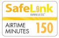 $29.79 Safelink Wireless Refill Airtime Minutes