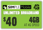 $39.79 Simple Mobile Refill Airtime Minutes