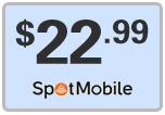 Buy the $22.99 Spot Mobile Refill Minutes Instant Prepaid Airtime | On SALE for Only $22.99