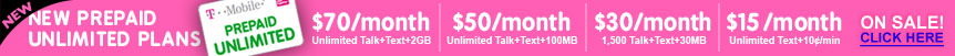 T-Mobile® Introduces 2 new Prepaid Unlimited plans