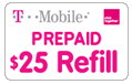 T-Mobile Prepaid Pay As You Go Minutes - 130 min/90 days