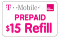 T-Mobile Prepaid Pay As You Go Minutes - 45 min/90 days