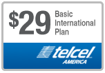 $28.95 TelCel America Refill Airtime Minutes