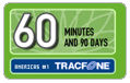 60 Tracfone Wireless Airtime Minutes (90 Days)
