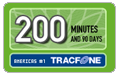 200 Tracfone Wireless Airtime Minutes (90 Days)
