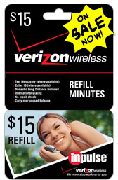 Buy the $15.00 Verizon Prepaid | On SALE for Only $14.89