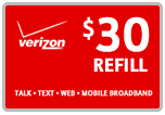 <s>$30.00</s> $29.79 Verizon Prepaid Real Time Refill Minutes