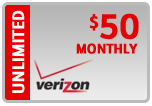 Buy the $50.00 Verizon Prepaid Real Time Refill Minutes | On SALE for Only $49.59