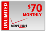 Buy the $70.00 Verizon Prepaid Real Time Refill Minutes | On SALE for Only $69.39