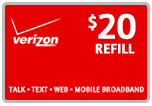 $19.89 Verizon Prepaid Real-Time Refill