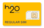 H2O Wireless SIM Cards