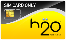 $2.99 H2O Wireless SIM Cards