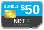 Buy the $60.00 Net10 Wireless SIM Cards | On SALE for Only $49.79