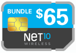 Buy the $75.00 Net10 Wireless SIM Cards | On SALE for Only $64.69