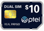 Buy the $19.99 Platinumtel SIM Cards | On SALE for Only $9.95