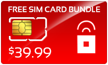 Buy the $49.98 Red Pocket Mobile Sim Cards | On SALE for Only $39.79