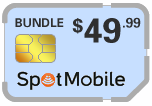 Buy the $54.99 Spot Mobile SIM Cards | On SALE for Only $49.99