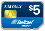 Buy the $5.00 TelCel America SIM Cards | On SALE for Only $2.99